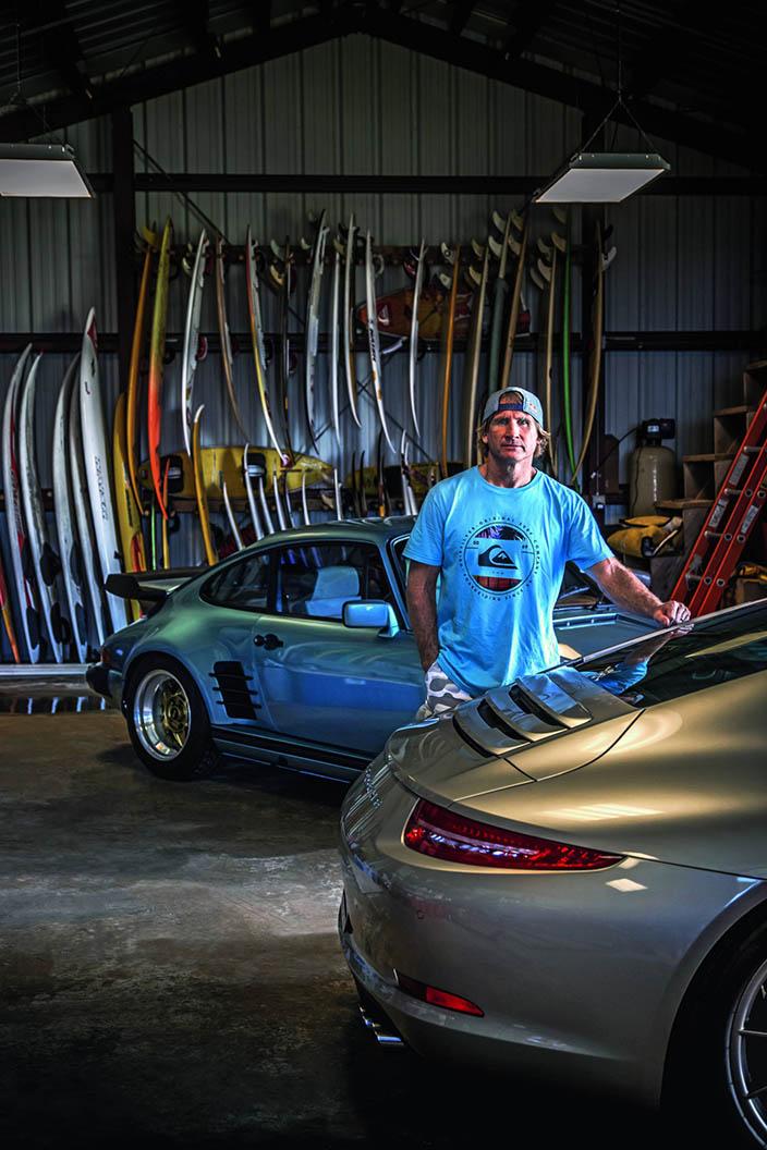 Robby in der Garage