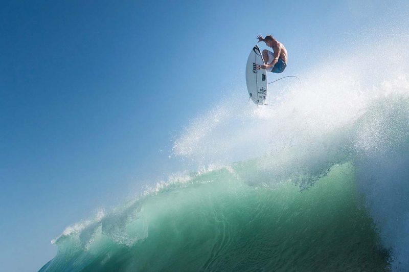 Mick Fanning surft an der Gold Coast,Queensland