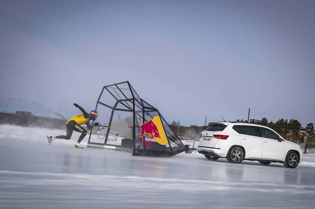Kjeld Nuis beim skaten