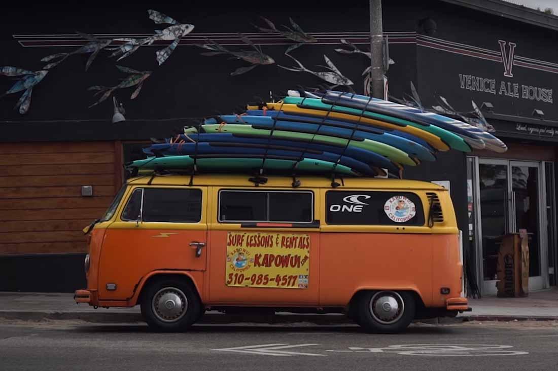 Martin Squires VW Bus