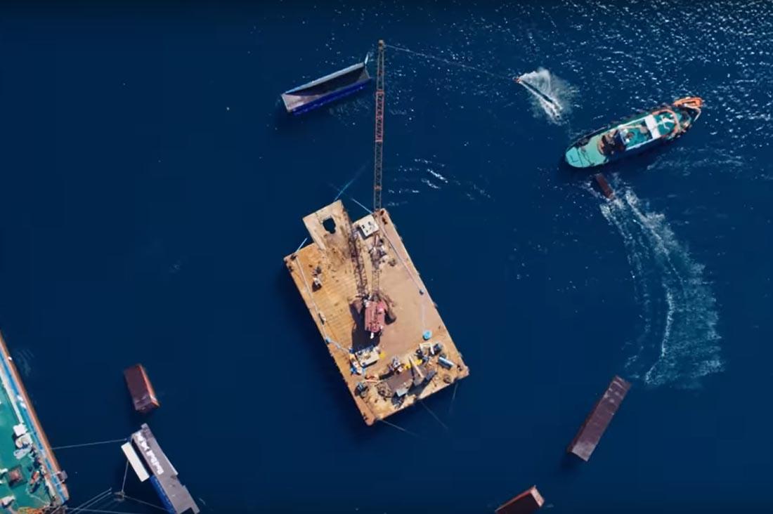 wake crane video