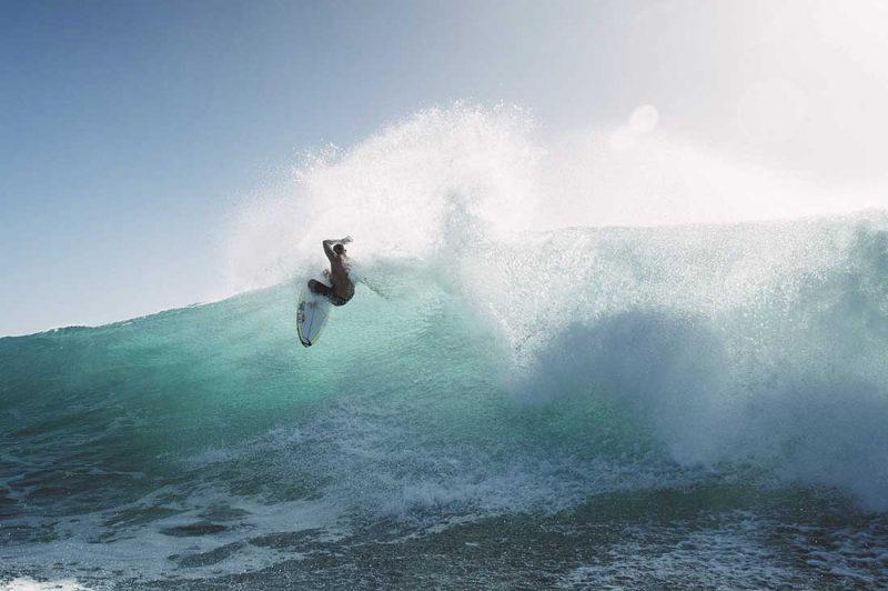 Mick Fanning an der Gold Coast Queensland