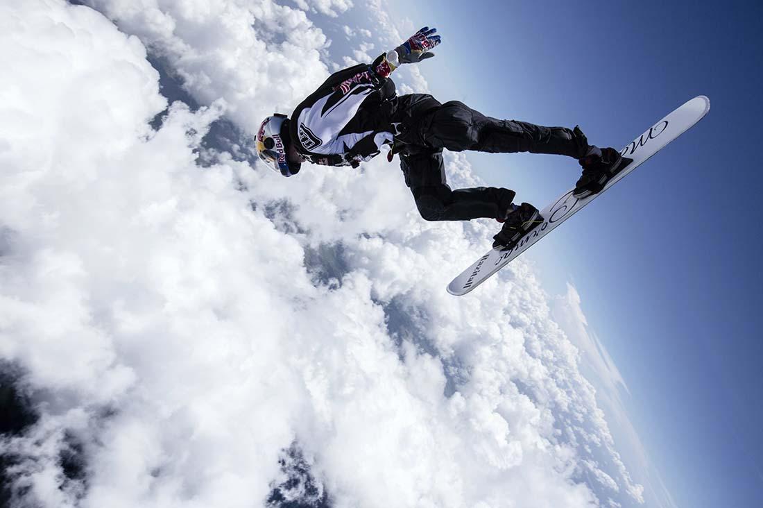 Sean MacCormac am Weg durch die Wolken
