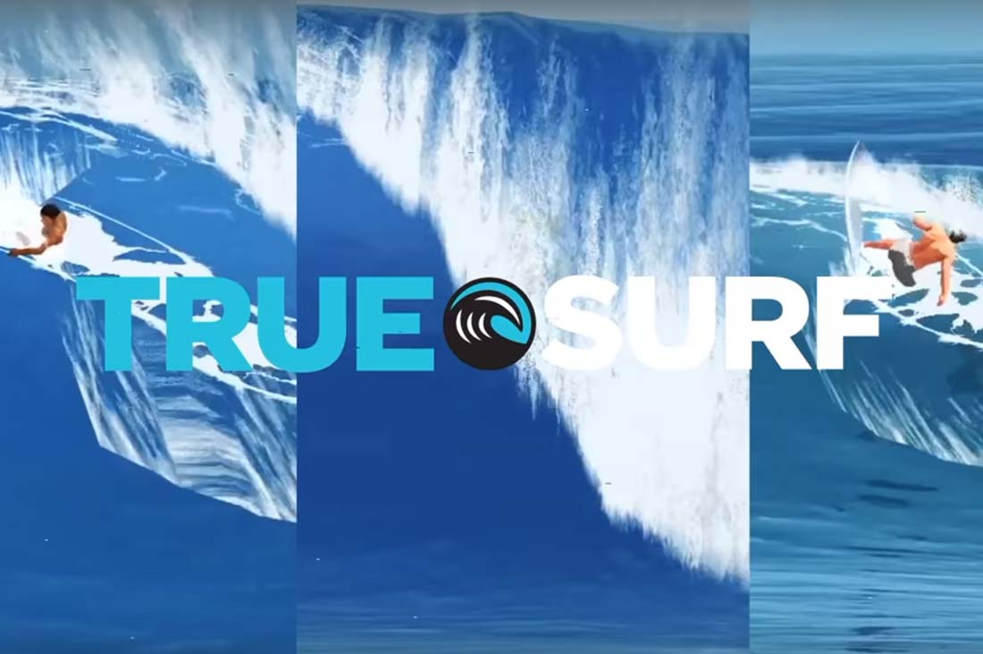 Titel True Surf Spiel