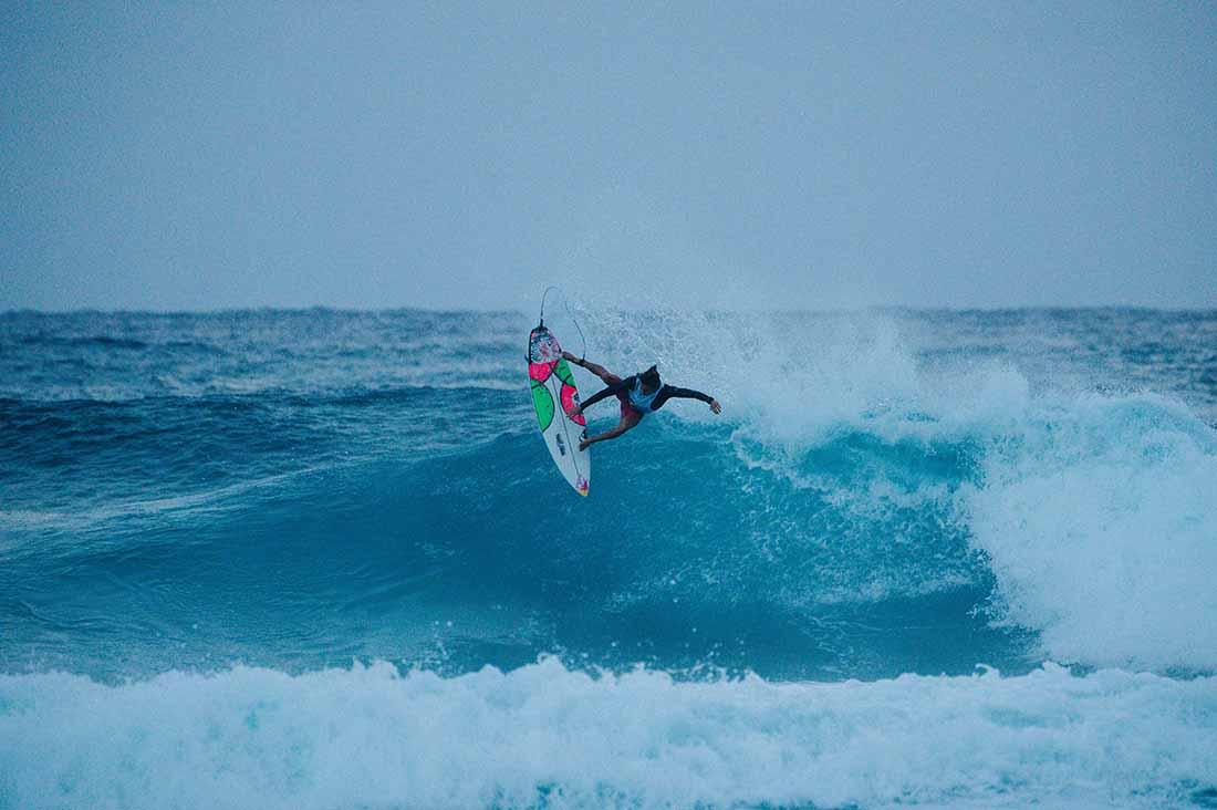 Mateus Herdy beim Airsurfing