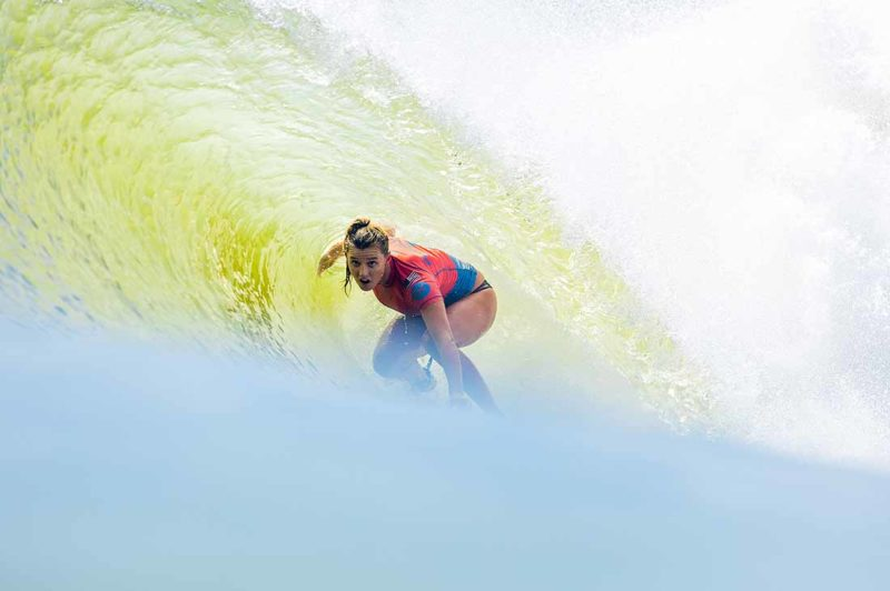 Lakey Peterson in der Tube