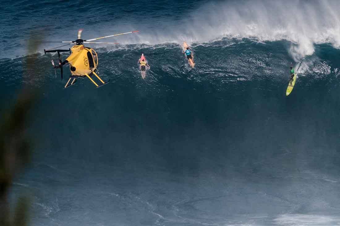 WSL Jaws Big Wave Video